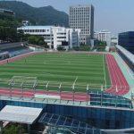 동서대학교 운동장 (여름 드론 영상 4K)