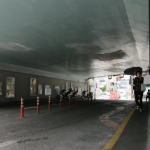 구포만세길로 들어가는 터널 내부